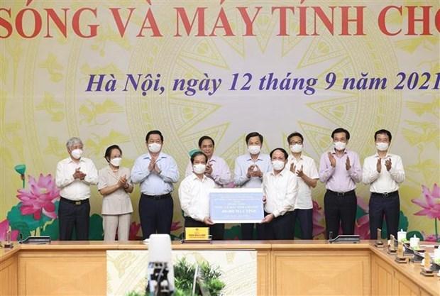 ПМ запускает программу по предоставлению компьютеров малообеспеченным ученикам hinh anh 2