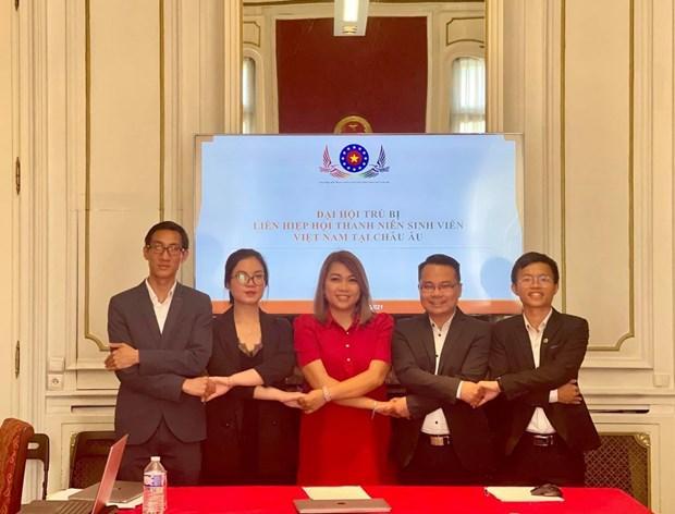 Создан Союз вьетнамских молодежных и студенческих ассоциации в Европе hinh anh 1