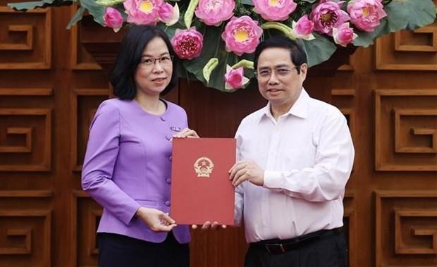 Премьер-министр вручил Решение о назначении генерального директора ВИА hinh anh 1