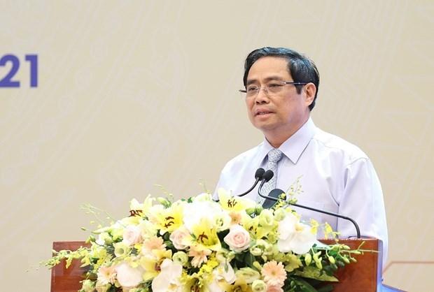 Премьер-министр Фам Минь Тьинь попросил создать правовои коридор для научно-технического развития hinh anh 1