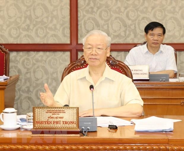 Политбюро дает мнения о социально-экономическои ситуации hinh anh 1