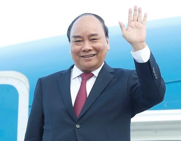 Президент Нгуен Суан Фук отбыл с официальным визитом на Кубу и в США для участия в дискуссии высокого уровня Генеральнои Ассамблеи ООН hinh anh 1