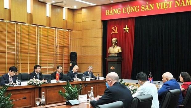 Министр предлагает поддержку фирмам, инвестирующим в Кубу hinh anh 1