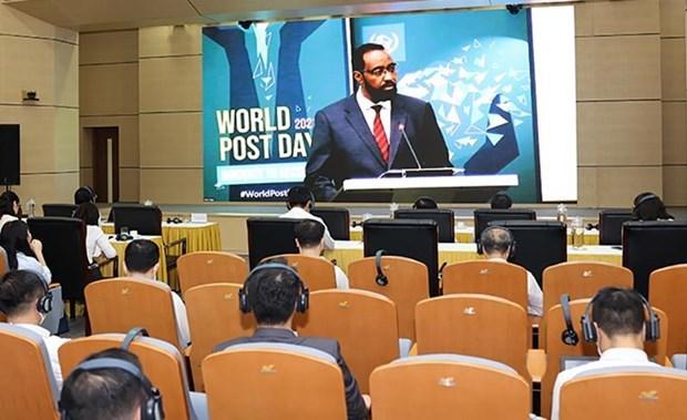 Вьетнам поднялся на две позиции в мировом индексе почтового развития hinh anh 1