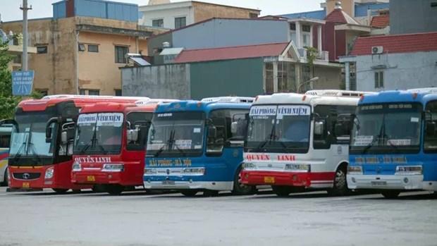 Ханои спешит подготовиться к возобновлению работы пассажирского транспорта hinh anh 2