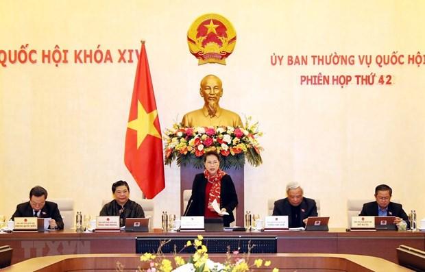 В Ханое открылось 42-е заседание Постоянного комитета НС hinh anh 1