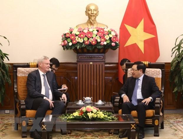 Содеиствие россииско-вьетнамскому сотрудничеству для всеобъемлющего стратегического партнерства hinh anh 1
