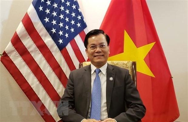 Американская финансовая корпорация считает Вьетнам приоритетным партнером hinh anh 1