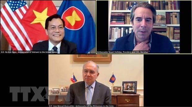 Посол: Вьетнам приветствует американские компании в условиях глобальных изменении в цепочке поставок hinh anh 1