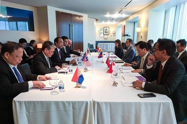 На встрече в Вашингтоне была обсуждена подготовка к проведению специального саммита АСЕАН-США hinh anh 1