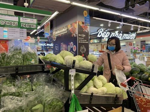 Индекс потребительских цен за февраль упал на 0,17% hinh anh 1