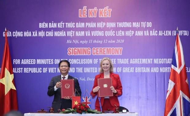 UKVFTA открывает новые возможности для торговли между Вьетнамом и Великобританиеи hinh anh 1