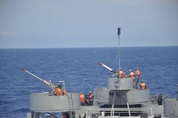 Командование военно-морского округа 2 активизирует подготовку hinh anh 1