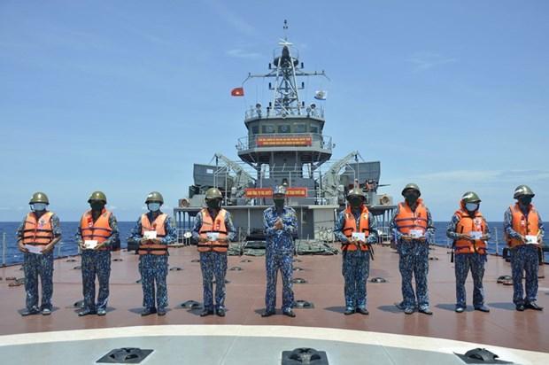 Командование военно-морского округа 2 активизирует подготовку hinh anh 7