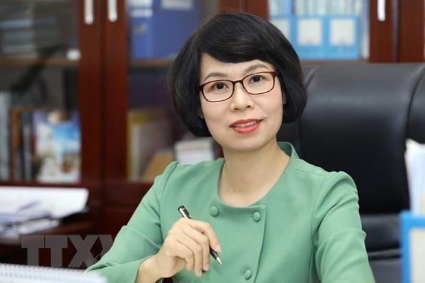Г-жа Ву Вьет Чанг назначена генеральным директором Вьетнамского информационного агентства hinh anh 1