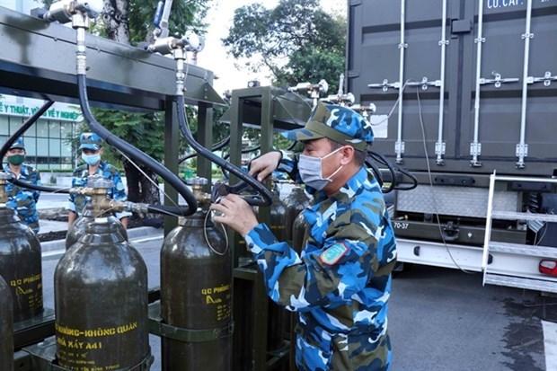 Минздрав развернет проект по обеспечению кислородом по всеи стране hinh anh 1