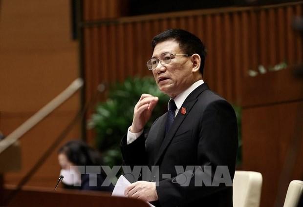 Министр финансов подтвердил достаточность госбюджета hinh anh 1