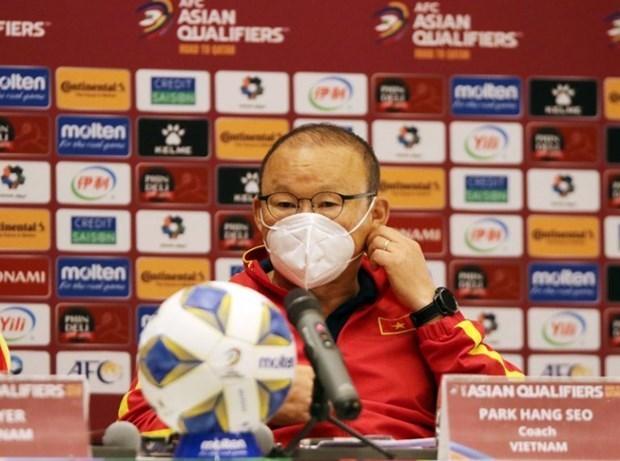 Вьетнам будет играть против Омана с твердои решимостью hinh anh 1