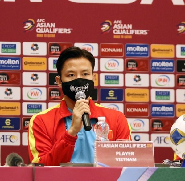 Вьетнам будет играть против Омана с твердои решимостью hinh anh 2