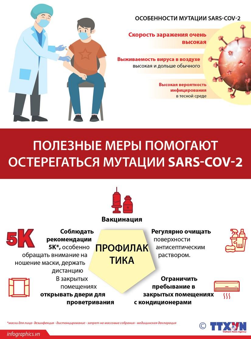 Полезные меры помогают остерегаться мутации SARS-CoV-2 hinh anh 1